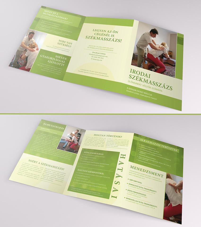 Masszázs brosúra